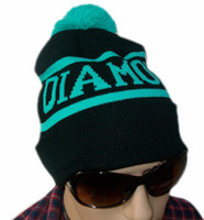 Wholesale Diamond Beanies Winter Cap - 2017 New Fashion Bigbang GD Diamond Supply Co Beanie-Winter Hat Beanie-Wasted Beanie Supply Beanies Brand Snapback Caps brand designer hats