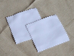 Wholesale Wholesale Sterling Silver Cleaning Cloth - Factory!!!!!! With retail OPP bag 100pcs pack Silver Polish Cloth for 925 sterling silver Jewelry Best Quality