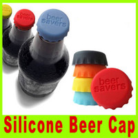 Wholesale Wine Bottle Cap Seal - 201409 New Free shipping Bottle cover Beer Wine bottle saver silicone beer bottle caps Seal well High silica content A308X