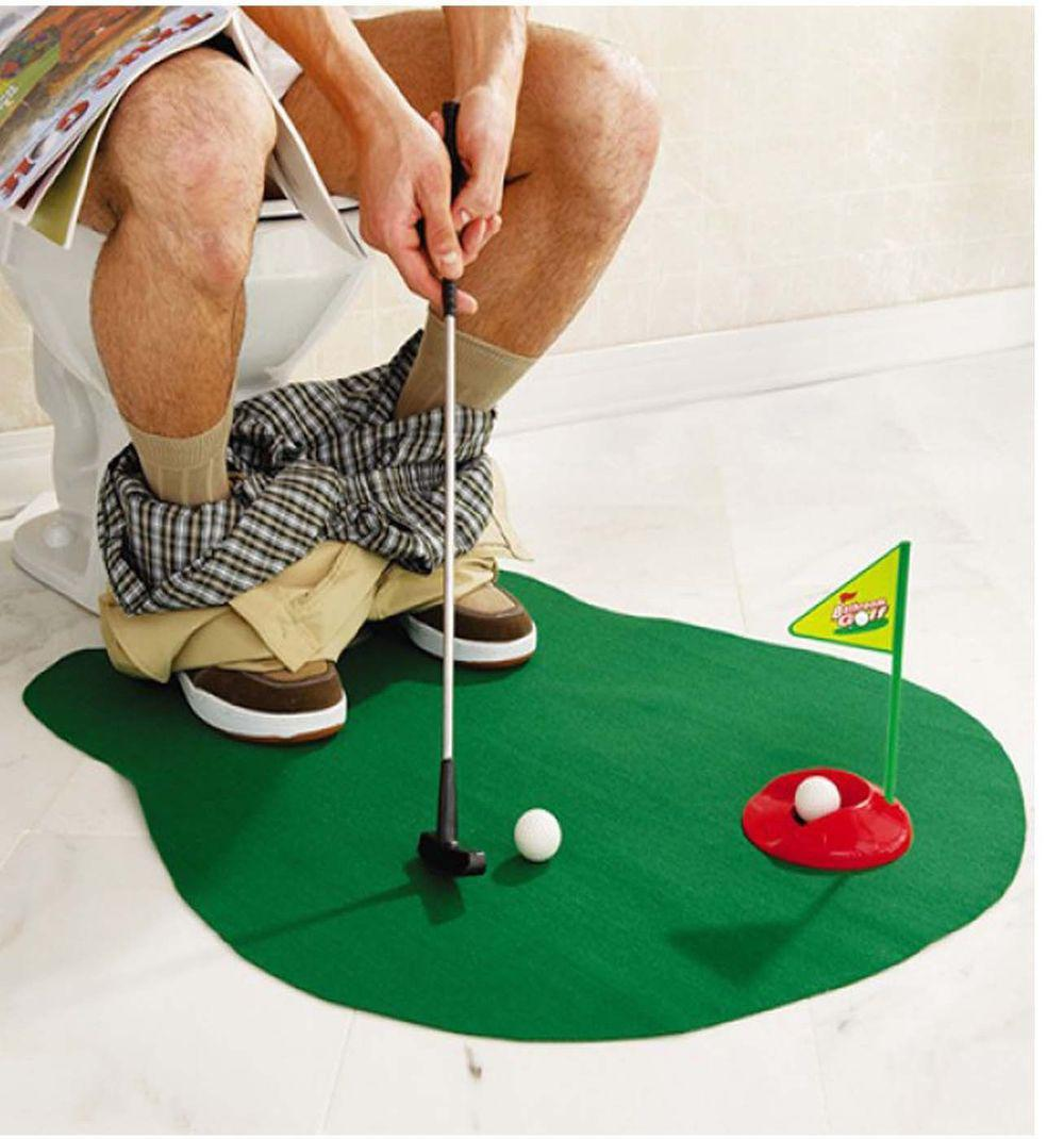 2018 Cool!!toilet U0026 Bathroom Mini Golf Mat Set_ Game Potty Putter!hot Sale  From Jack16889, $25.11 | Dhgate.Com