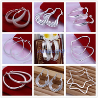 25Pairs Mixed Order Fashion Charming Vogue Round Oval Dangle...