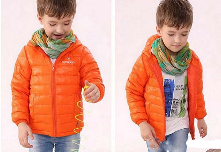 Child Winter Out Wear Clothing Children Boys Down Jacket Coat ...