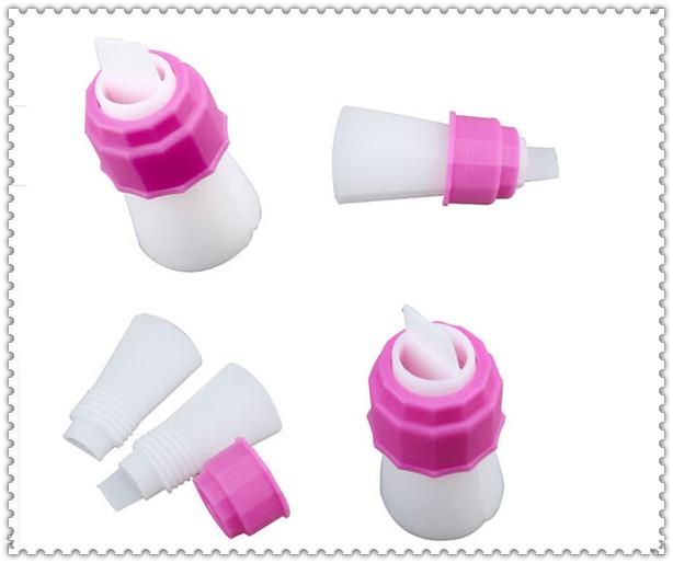 Wholesale - Two Color Cake Dessert Decorators Icing piping bag cream pastry bag with nozzles pastry converter bakeware free shipping