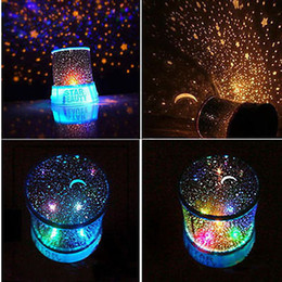 Wholesale Led Star Master Light - Amazing Star Master LED Sky Cosmos Space Projector Kids Bed Night Light Mood Lamp Gift