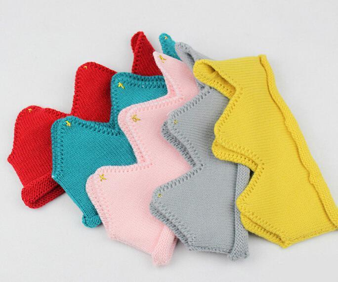 Bébé Tricot Couronne Tiara Enfants Infant Crochet Bandeau Chapeau Chapeau Fête D'anniversaire Accessoires de Photographie Beanie Bonnet