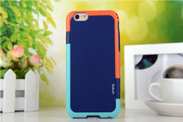 "Wholesale Diamond Pattern Plastic - Hybrid Silicone TPU + PC Case for iphone 6 4.7"" 6 plus 5.5"" Frame Diamond pattern Protective cellphone back case For iPhone 6 4.7 6plus 5.5"
