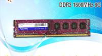 desktop ddr3 al por mayor-envío gratis Adata 8g ddr3 1600 computadora de escritorio ram solo 8 gb