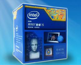 Wholesale intel i5 - free shipping Intel   Intel Core i5-4570 cess: 22 nm quad-core desktop CPU pin with Z87-K 1150 Z97