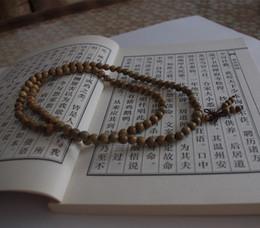 Wholesale 8mm Sandalwood Beads - Wholesale-8mm Fragrant Sandalwood 108 Beads Prayer Buddhism Mala Elasticity Necklace Bracelet Chain