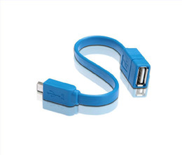 Linha otg on-line-Otg cabo de dados do telefone móvel usb flash drive cabo micro usb do telefone móvel otg linha otg cabo adaptador