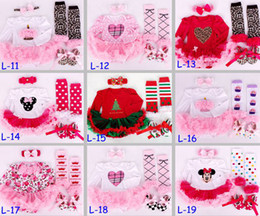 zebra dress shoes Promo Codes - 2016 New Girls Baby Christmas Halloween Rompers Tutu Dress set Halloween romper & Baby Ruffle lace legwarmer & Girls headband & Infant shoes