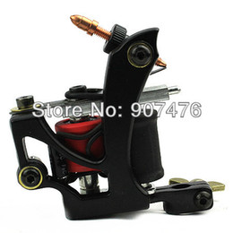 Wholesale Tattoo Machine Kits For Beginners - Wholesale-FK Irons Aluminum Alloy Tattoo Machine Gun for shader Liner 2pcs set tattoo equipment