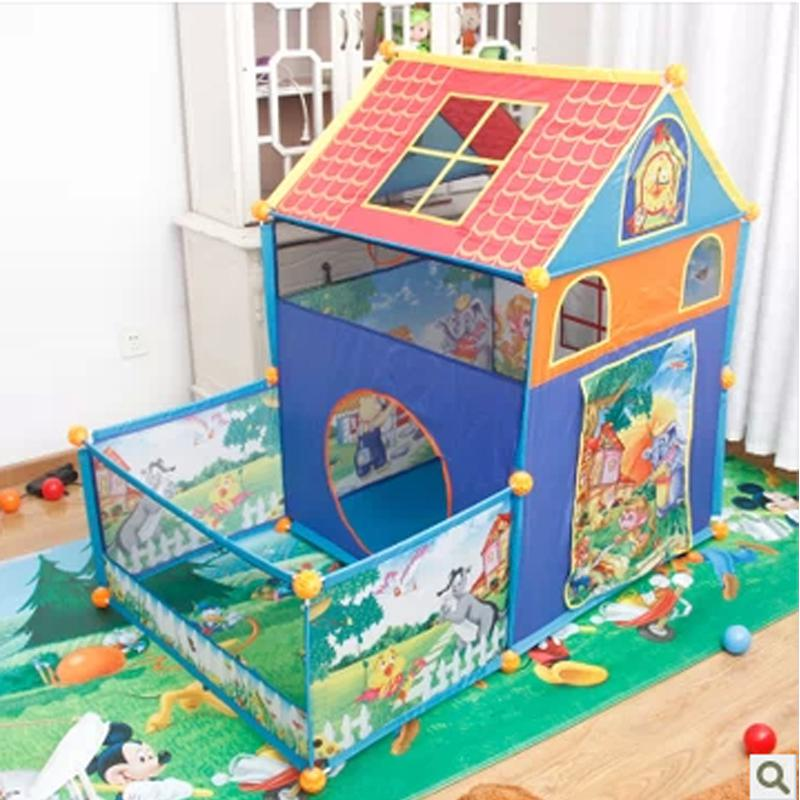 See larger image  sc 1 st  DHgate.com & New Indoor Tents For Kids Child Tent Baby Play House Toy House ...