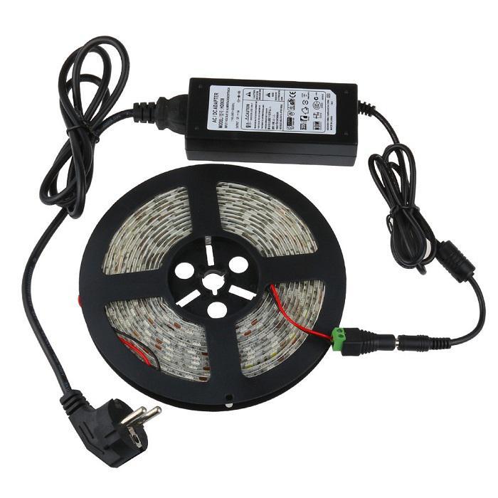 100% 6A 72W 12V Carga del adaptador del transformador para la luz de tira del LED CCTV Camera + 1.2m Cable con el enchufe de EU / AU / US / UK