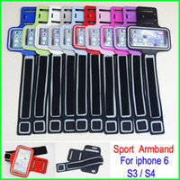 Wholesale blue iphone 5c white case for sale – best Newest Universal Waterproof Running Sports Armband GYM Arm band Belt Pouch cover case skin for iphone S S C Samsung Galaxy S4 S3