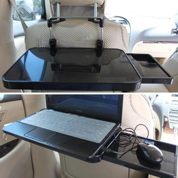 top popular Free shipping car laptop holder multi purpose vehicle folding computer desk dining table ,HZYEYO ,T2036 2019