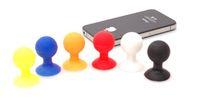 ahtapot telefonu emici toptan satış-Hoot Saling! - Ahtapot Kauçuk PVC Cep Telefonu Tutucu Aksesuarları Danışma Iphone iPad susang xiaomi için Sucker Destek Standı