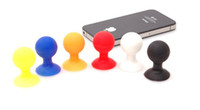 Wholesale Wholesale Desk Accessories - Hoot Saling!! -- Octopus Rubber PVC Mobile Phone Holder Accessories Desk Stand Sucker Support for Iphone iPad susang xiaomi