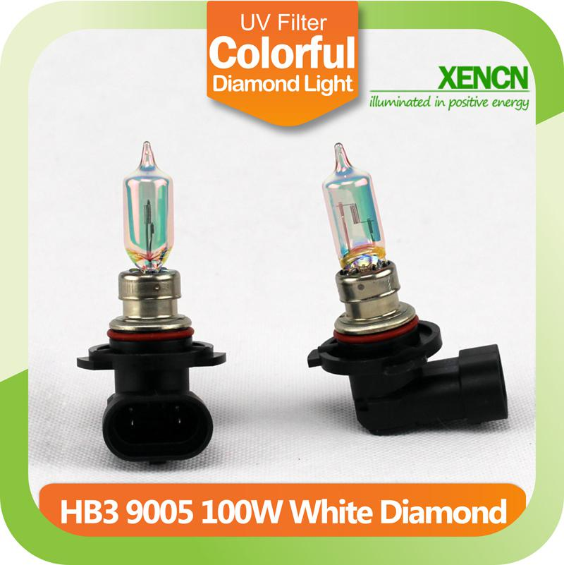 new xencn hb3 9005 12v 100w white diamond light car bulbs replace