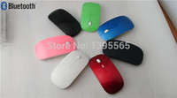 Wholesale Mini 3d Optical Mouse - Wholesale-Free Shipping 2014 High Quality Mini Slim 3D Bluetooth 3.0 Wireless Optical Mouse Mice 1600DPI For Laptop PC,six color options