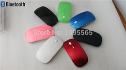Wholesale High Quality Mini Slim D Bluetooth Wireless Optical Mouse Mice DPI For Laptop PC six color options