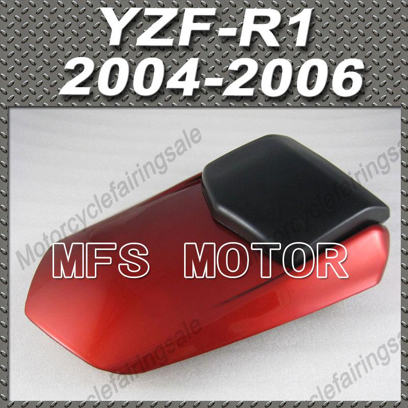 For YZF-R1 Motorcycle Rear Pillion Red Injection ABS Seat Cowl Cover For Yamaha YZF-R1 2004 2005 2006