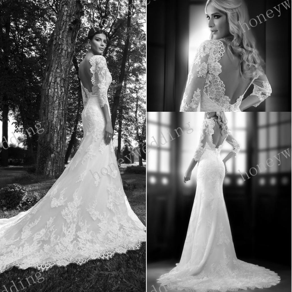 Vintage lace wedding dress dresses designer 2015 heart for Vintage wedding dress designers