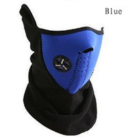 Wholesale ear warmer face mask - 2014 Thermal Neck Warmers Fleece Balaclavas Cs Hat Headgear Winter Ski Mask Ear Windproof Warm Face Motorcycle Bicycle Scarf