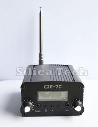 Wholesale Radio 7w - Wholesale-7W stereo PLL FM transmitter broadcast radio station kit
