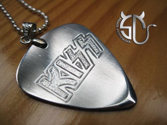 Wholesale Rock Band Kiss Logo Stainless Steel Handmade
