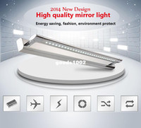 Wholesale 2014 NEW w bathroom cabinet lighting fixture lumiere de mirror v luz do espelho vanity Restroom LED mirror light