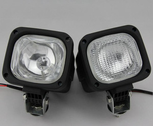 Wholesale HID Xenon 55W HID xenon Work Light Driving Light Spot Flood Light Offroad Lamp wide Flood Beam Waterproof trailer tractor Jeep Bulbs
