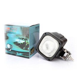 Wholesale Hid Work Lights Tractors - 55W HID Xenon Work Light Driving Light Spot Flood Light Offroad Lamp Waterproof 12V 24V trailer tractor Jeep SUV Bulbs