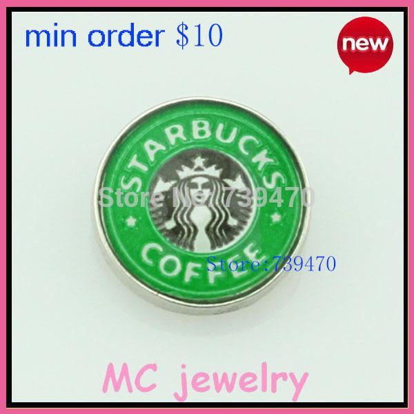 2014 hot charms origami owl new item hot sell Starbucks floating...