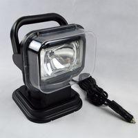 ingrosso illuminazione del proiettore-HID Spot Xenon 55W Faro da lavoro 360 HID Magnetico HID Xenon Searchlight Car SUV Spotlight Wireless Remote driving lampada da pesca Luci