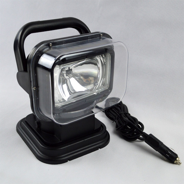 top popular HID Spot xenon 55W Work Light 360 Magnetic HID Xenon Searchlight Car SUV Spotlight Wireless Remote driving lamp Fishing Lights 2019
