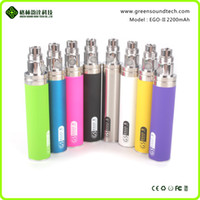 Wholesale crazy price - GS Patent 9 colors gs ego ii 2200mah Christmas crazy selling big capacity wholesale factory price