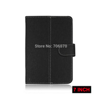 ledertasche für tablettenwürfel großhandel-Universal 7-Zoll-Android-Tablet Leder Flip Case Cover 7 Zoll PC Tablet Ledertasche für Q88 Cube sprechen 7 Pipo Onfa