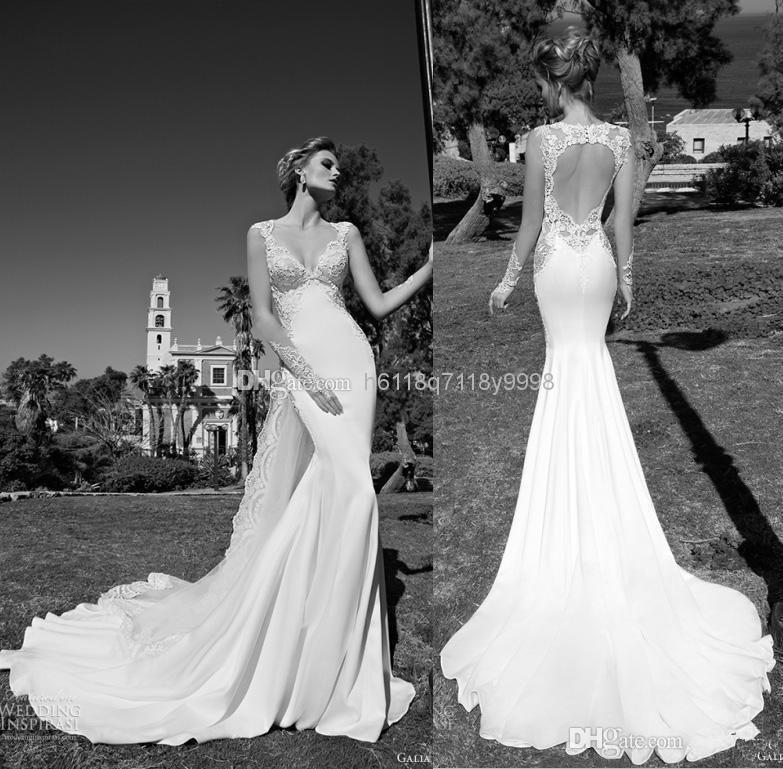 Wholesale 2016 New Arrival Galia Lahav Wedding Dresses V