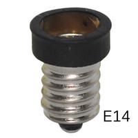titular e12 al por mayor-Adaptador de la lámpara CALIENTE E14 a E12 Convertidor de Adaptador E14-E12 Adaptador de la Lámpara Convertidor Adaptador de lámparas 3pcs / lot