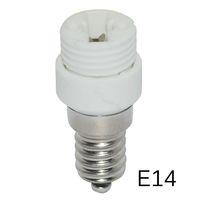 ingrosso porta g9-Adattatore HOT E14 TO G9 Presa di conversione Materiale di alta qualità materiale ignifugo adattatore portalampada 3 pz / lotto