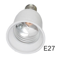 Wholesale e26 e27 sockets - HOT E14 to E27 Lamp Holder Converter Socket Light Bulb Lamp Holder Adapter Plug Extender Led Light USE 3PCS LOT