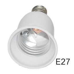 Porte ampoule e27 en Ligne-HOT E14 à E27 Support de lampe Convertisseur Socket Ampoule Adaptateur de prise de lampe Adaptateur Plug Extender Led Light USE 3PCS / LOT