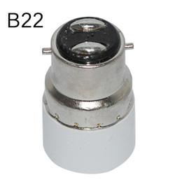 Wholesale E14 B22 Adapter - B22 to E14 lamp base Light Lamp Bulbs Adapter Converter Adapter lamp holder Free Shipping lamps adapter