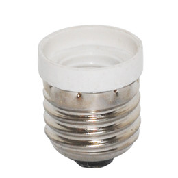 Wholesale E27 Adapter Socket - HOT E27 TO E14 adapter Conversion socket High quality material fireproof material socket adapter Lamp holder 3pcs lot