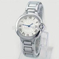 Wholesale Hot Sale Stainless Steel Watch - 2017 Hot Sale Fashion ladies watches women man watch Stainless Steel Bracelet Wristwatches Brand female clock lovers watch classical watch