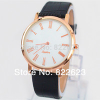 Wholesale Thin Watch Brands - 2017 New Model Fashion Women Man Watch Leather Watch Luxury Lady Clock Special Design Elegant Ladies Watches Top Brand Free box Thin case