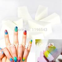 Wholesale Professional Nail Stamp Machine - 100PCS Professional Manicure Sponge Nail Art Tools for Gradient Color Nail Art&Mulit-color Nail