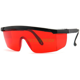 Wholesale Safety Goggles Free Shipping - Wholesale-New 200-540nm Eye Protection Goggles Green Blue Laser Safety Glasses Free Ship