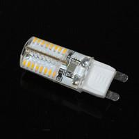Wholesale Energy Saving Led G9 - G9 220V 3014 SMD Led Light 64Leds Corn Bulb 4W High Lumen Energy Saving 3014SMD Lamps Candle lights & lighting 5Pcs Lot